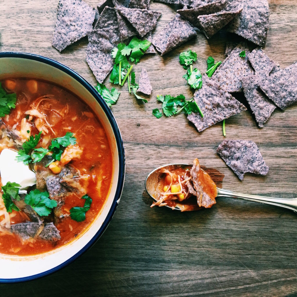 white girl mexican soup | Recipe via DisplacedHousewife