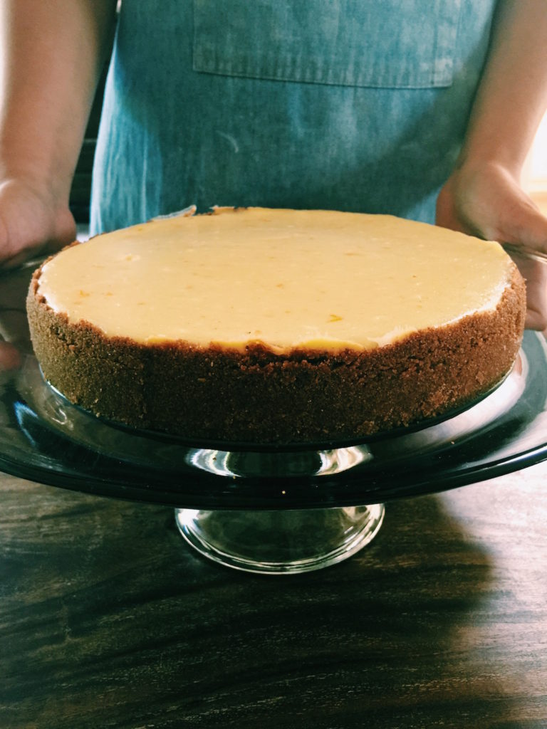 cardamom + rye-crust cheesecake | displacedhousewife