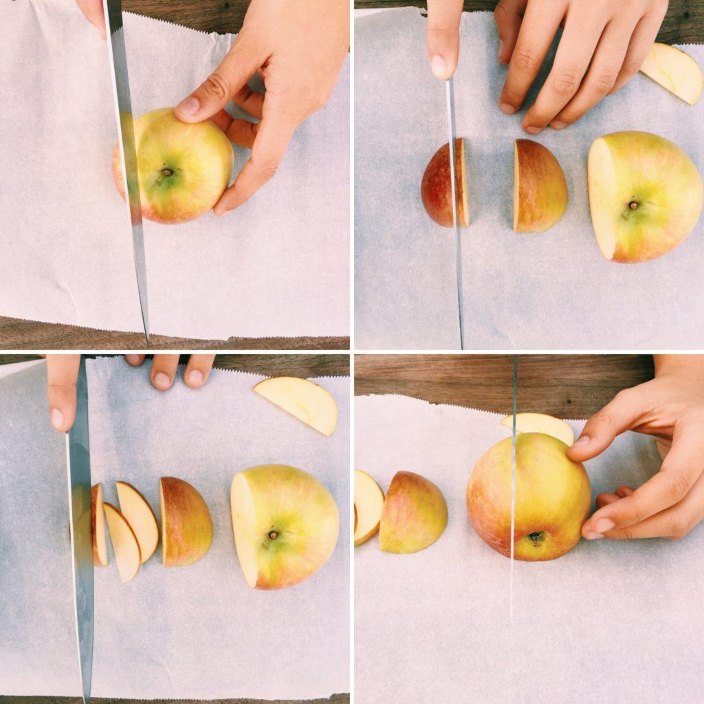 apple + cranberry petite rosette tarts   Recipe via DisplacedHousewife
