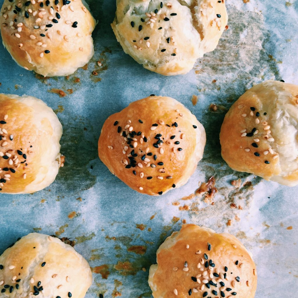 lazy white-girl asian buns   Recipe via DisplacedHousewife