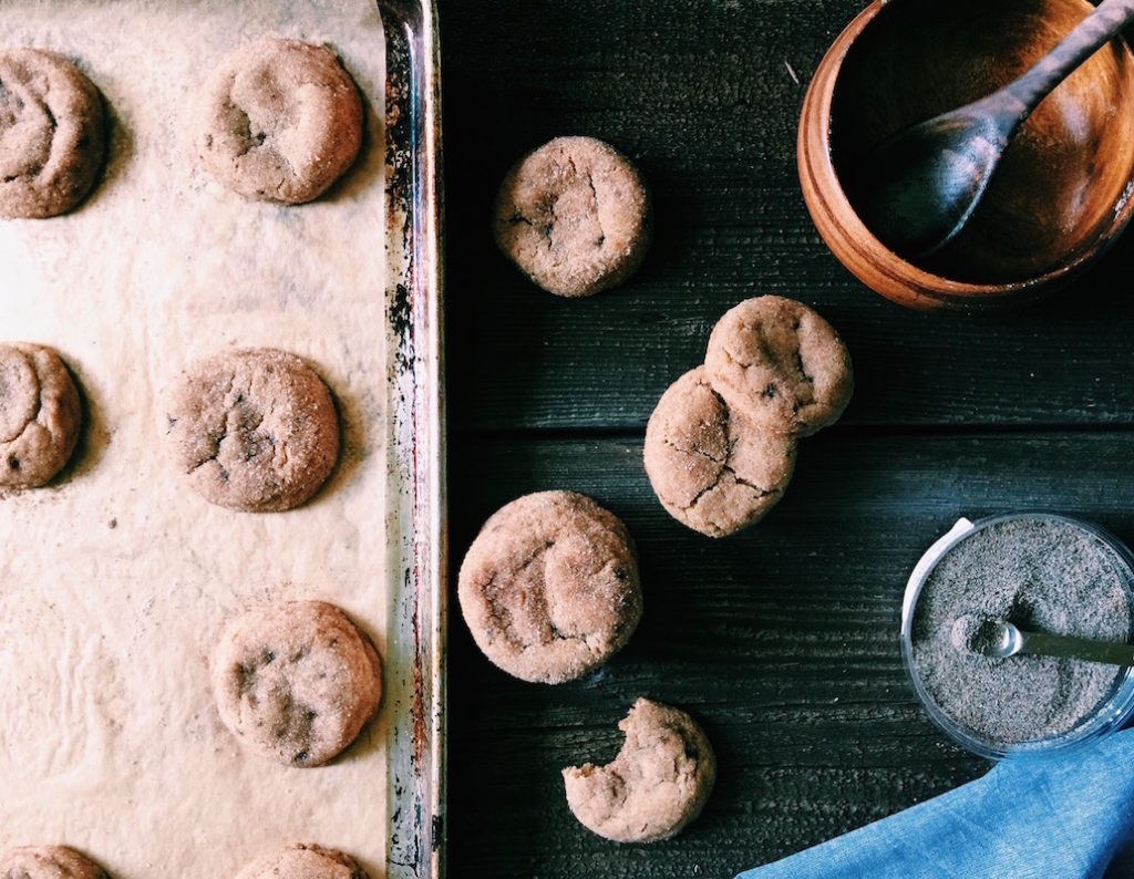 brown butter muscovado snickerdoodles | Recipe via DisplacedHousewife | Soft + chewy with a nice sugar-spice crust on the exterior. Our new favorite cookie!