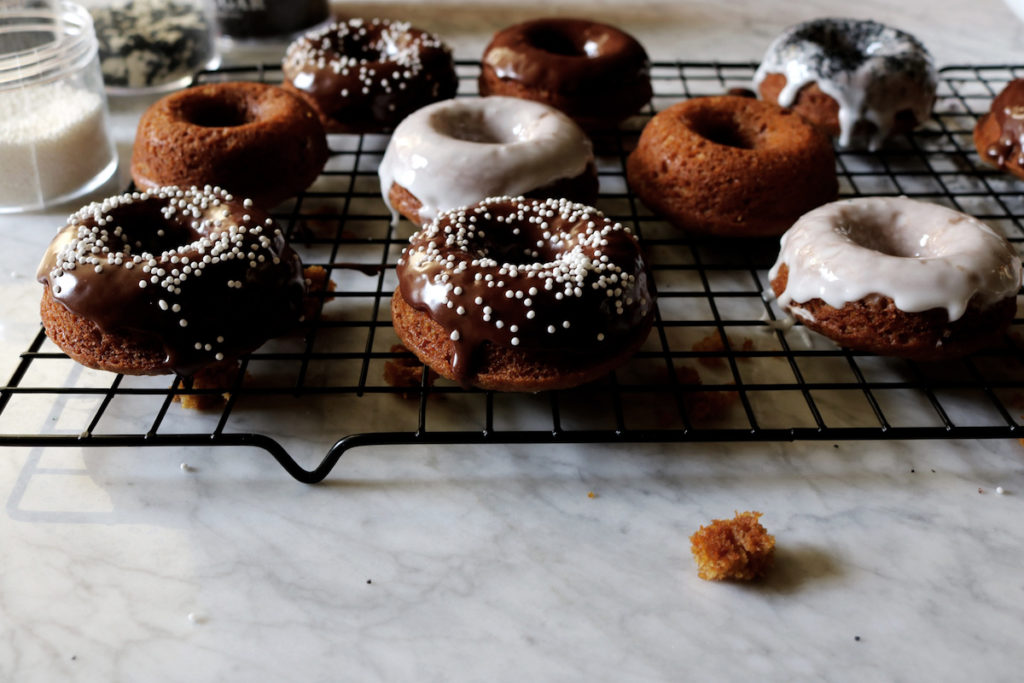Brown Butter Pumpkin Donuts Recipe | DisplacedHousewife