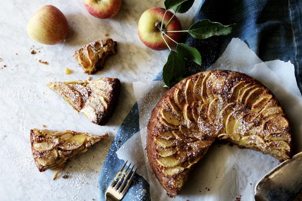 Spiced Apple Cake Recipe | DisplacedHousewife