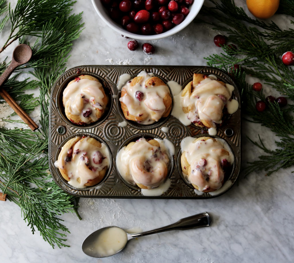 Cranberry Spice Breakfast Buns Recipe | DisplacedHousewife