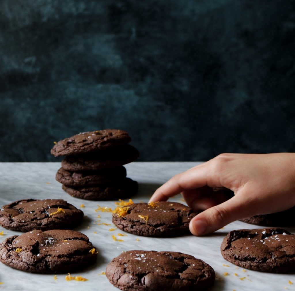 Chocolate Orange Truffle Cookies Recipe | Displaced Housewife