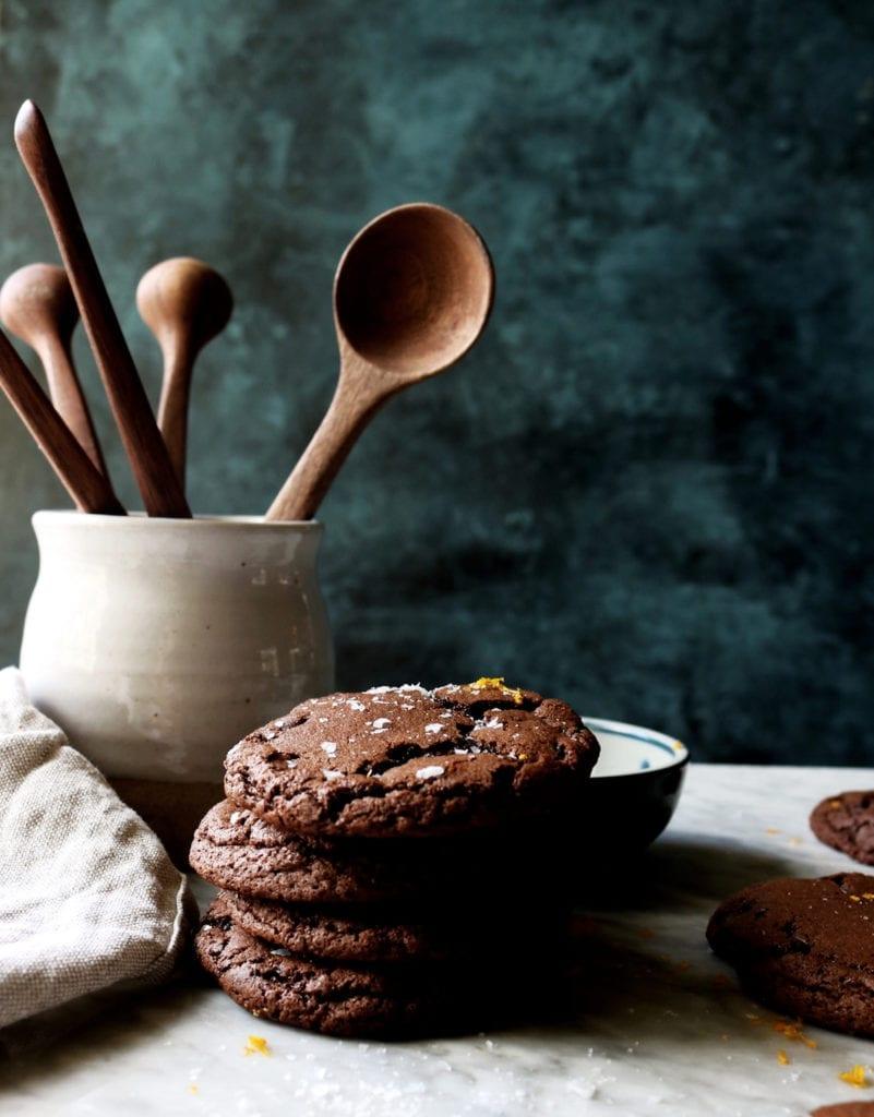 Chocolate Orange Truffle Cookies Recipe | Displaced Housewife