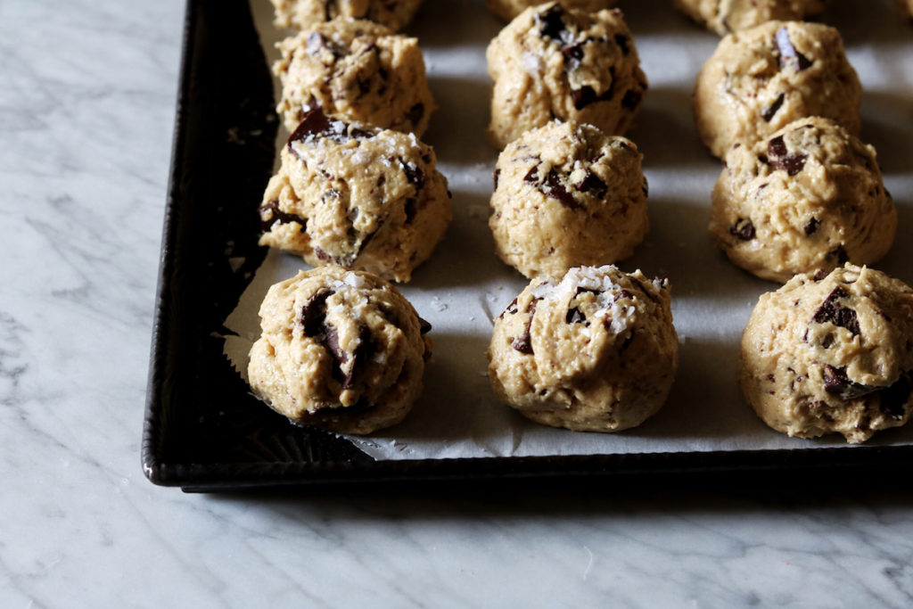 Dark Chocolate Olive Oil Cookies Recipe by Rebecca Firth - DisplacedHousewife