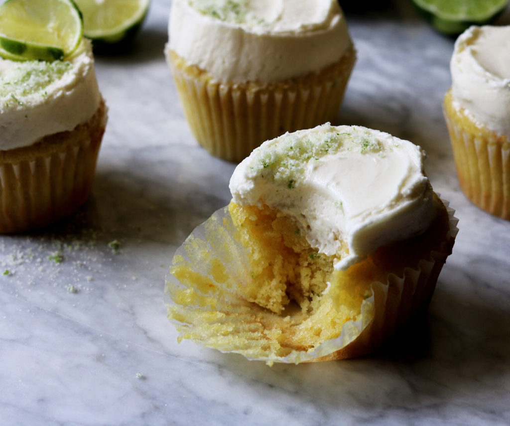 Margarita Cupcakes With White Chocolate-Lime Buttercream Recipe by Rebecca Firth | DisplacedHousewife