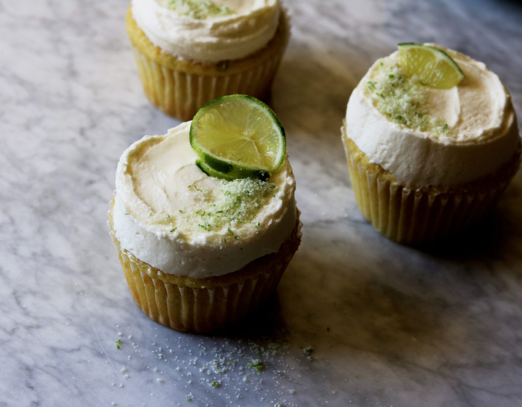 Margarita Cupcakes With White Chocolate-Lime Buttercream Recipe by Rebecca Firth   DisplacedHousewife