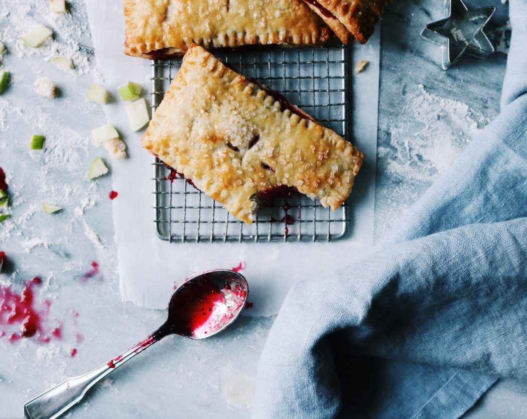 Rustic Cranberry Apple Hand Pies Recipe by Rebecca Firth | DisplacedHousewife