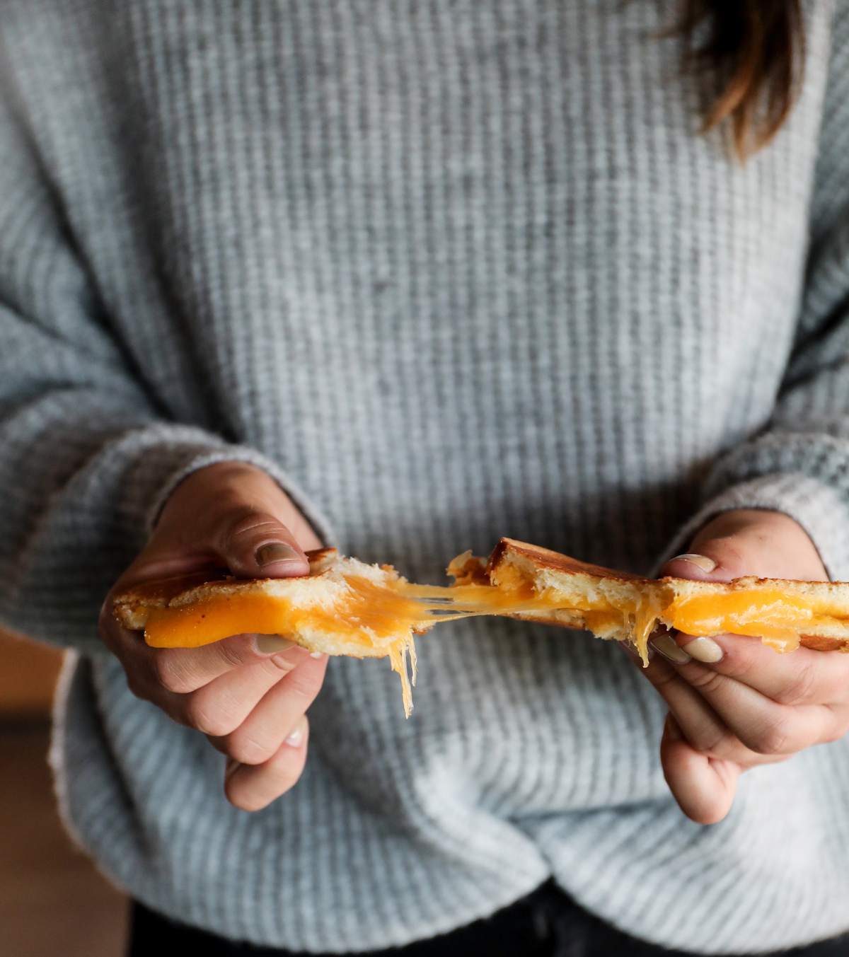 Grilled Cheese Pull | DisplacedHousewife