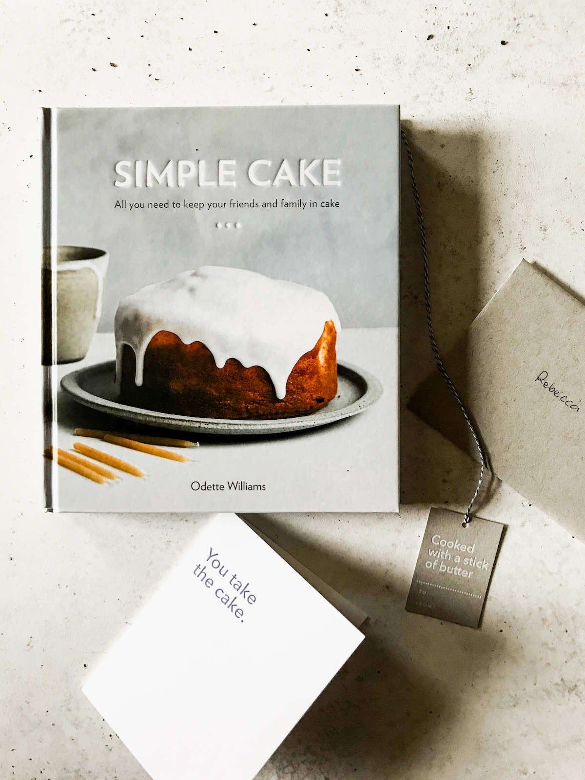 Simple Cake Cookbook by Odette Williams
