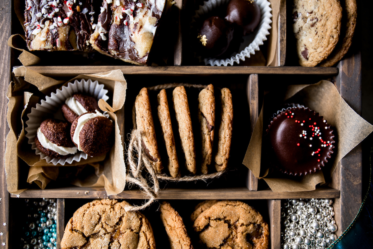 Holiday Cookie Box   Recipes via DisplacedHousewife Rebecca Firth   recipes, + tips