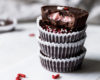 Dark Chocolate Peppermint Cups | Recipe via DisplacedHousewife Rebecca Firth