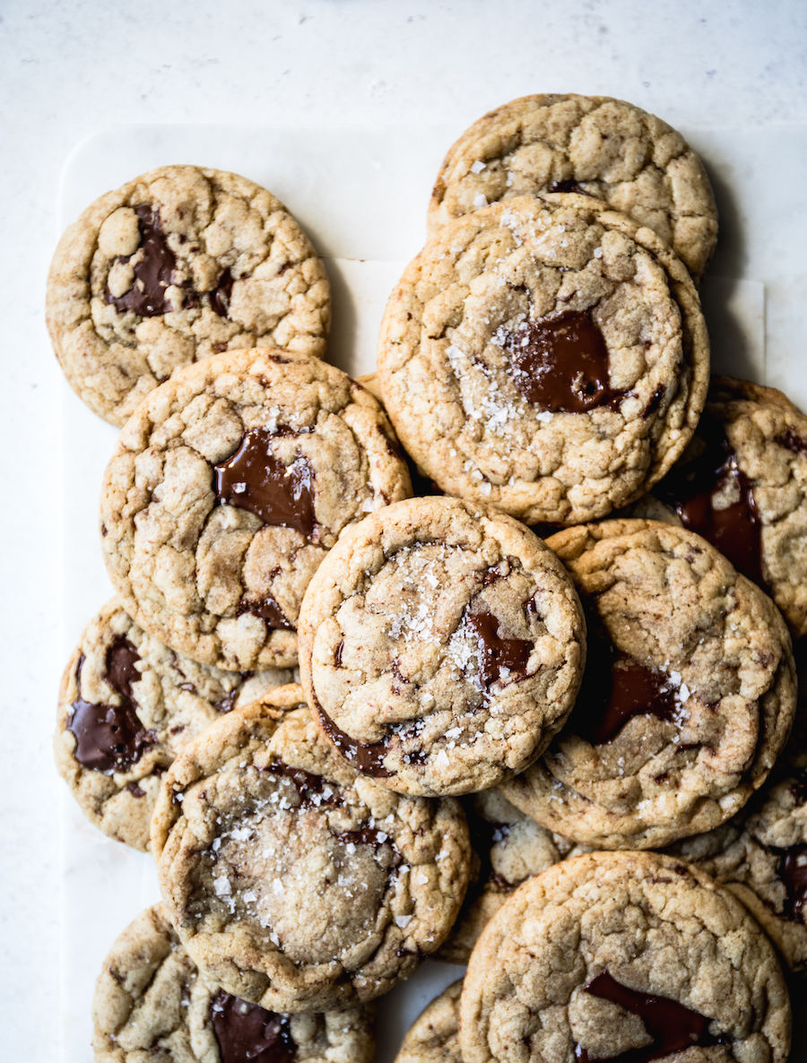 Toasted Oat Chocolate Chip Cookies   recipe via DisplacedHousewife Rebecca Firth